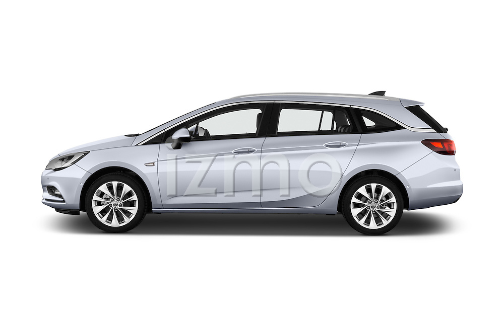 Car Driver side profile view of a 2016 Opel Astra Innovation 5 Door Wagon Side View