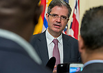 France ambassador to United Nation <br /> <br /> Speaking to press