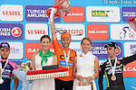 Davide Rebellin (ITA) CCC Sprandi Polkowice wins Stage 3 of the 2015 Presidential Tour of Turkey, with Kristijan Duraseck  (SLO) Lampre-Merida in 2nd place and  Eduardo Sepulveda  (ARG) Bretagne Seche Enviroment in 3rd, running 165.3km from Kemer to Elmali. 28th April 2015.<br /> Photo: Tour of Turkey/Mario Stiehl/www.newsfile.ie