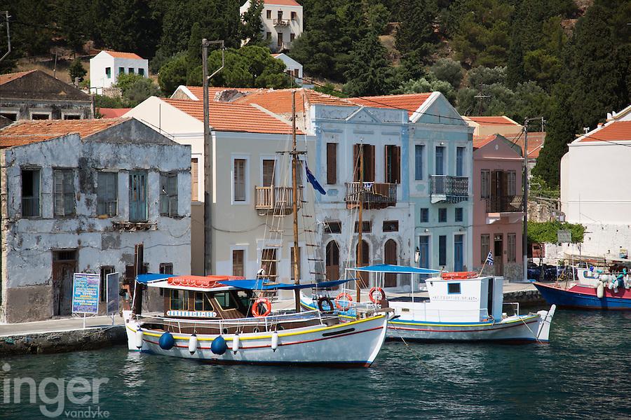 The Harbour at Kastellorizo, Greece