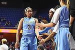 Tulane falls to UCF, 61-57, and exits the American Athletic Conference Women's Basketball Tournament.