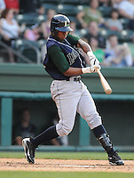 June 19, 2009: Outfielder Steve Brown (24) of the Lexington Legends, Class A affiliate of the Houston Astros, in a game against the Greenville Drive at Fluor Field at the West End in Greenville, S.C. Photo by: Tom Priddy/Four Seam Images
