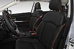 Front seat view of 2016 Subaru Crosstrek Hybrid-Touring 5 Door SUV Front Seat  car photos
