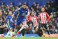 Ruben Loftus Cheek of Chelsea in action during Chelsea vs Southampton, Premier League Football at Stamford Bridge on 2nd October 2021