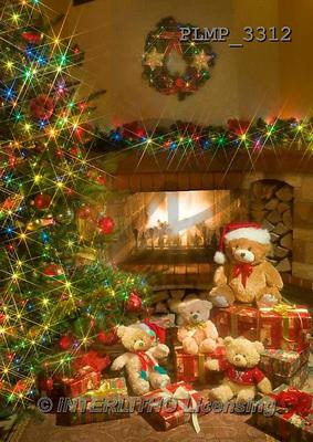 Marek, CHRISTMAS ANIMALS, WEIHNACHTEN TIERE, NAVIDAD ANIMALES, teddies, photos+++++,PLMP3312,#Xa# under Christmas tree,