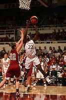 25 February 2006: Eziamaka Okafor during Stanford's 78-47 win over the Washington State Cougars at Maples Pavilion in Stanford, CA.