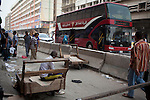 BAGHDAD, IRAQ: A new double decker bus moves through the old Shorja market in Baghdad...Despite an increase in violence across Iraq, daily life continues as normal in Baghdad...Photo by Ali Arkady/Baghdad