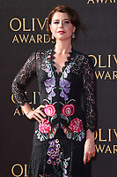 Jessie Buckley<br /> arriving for the Olivier Awards 2017 at the Royal Albert Hall, Kensington, London.<br /> <br /> <br /> ©Ash Knotek  D3245  09/04/2017
