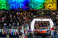 13th March 2020, Guanajuato, Mexico; WRC Rally of Mexico;   Ole Christian Veiby NOR and Jonas Andersson SUE - Hyundai Motorsport N - WRC2