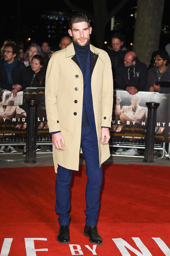 "Ryan Barrett<br /> at the ""Live by Night"" premiere at BFI South Bank, London.<br /> <br /> <br /> ©Ash Knotek  D3217  11/01/2017"
