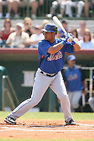 March 16th 2008:  Fernando Martinez of the New York Mets during a Spring Training game at Osceola County Stadium in Kissimmee, FL.  Photo by:  Mike Janes/Four Seam Images
