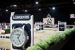 Henrik von Eckermann on Solitaer 41 competes during the Airbus Trophy at the Longines Masters of Hong Kong on 20 February 2016 at the Asia World Expo in Hong Kong, China. Photo by Li Man Yuen / Power Sport Images