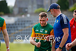Jason Foley, Kerry, after the Allianz Football League Division 1 Semi-Final, between Tyrone and Kerry at Fitzgerald Stadium, Killarney, on Saturday.Dara Moynihan, Kerry, and Kerry Selector Tommy Griffin
