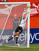 WPS goalkeeper Karina LeBlanc (23) during the WPS All Star match at Anheuser-Busch Soccer Park, in St. Louis, MO, June 7, 2009. The WPS All Stars won the match 4-2.
