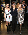 Jane Wiedlin, Kathy Valentine and Charlotte Caffey during the Broadway Opening Night Performance Actors' Equity Legacy Robe honoring Justin Prescott at the Hudson Theatre on July 26, 2018 in New York City.