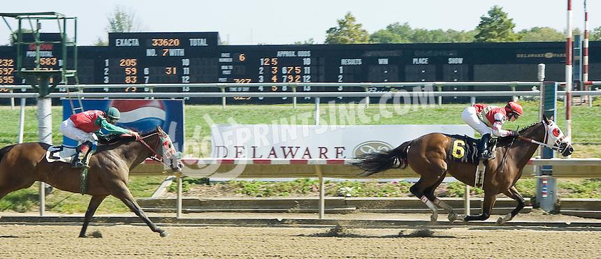 I'llthinkofsumthin winning at Delaware Park on 9/13/10