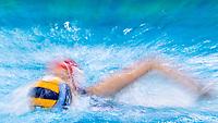 13 GRE STAMATOPOULOU Ioanna Greece<br />  <br /> Budapest 15/01/2020 Duna Arena <br /> Greece (white caps) Vs. Slovakia (blue caps) Women<br /> XXXIV LEN European Water Polo Championships 2020<br /> Photo  ©Giorgio Scala / Deepbluemedia / Insidefoto