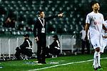 FC Kitchee Head Coach Chu Chi Kwong during the AFC Champions League 2017 Preliminary Stage match between  Kitchee SC (HKG) vs Hanoi FC (VIE) at the Hong Kong Stadium on 25 January 2017 in Hong Kong, Hong Kong. Photo by Marcio Rodrigo Machado/Power Sport Images