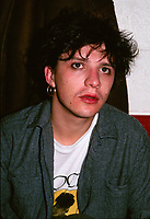 Le groupe francais INDOCHINE, au Quebec - CANADA, circa 1988<br /> <br /> Photo : Pierre Roussel - Agence Quebec Presse  -