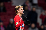 Antoine Griezmann of Atletico de Madrid celebrates during the La Liga 2017-18 match between Atletico de Madrid and CD Leganes at Wanda Metropolitano on February 28 2018 in Madrid, Spain. Photo by Diego Souto / Power Sport Images
