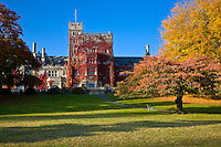 Hatley Castle at Royal Roads University, Victoria, British Columbia, Canada.