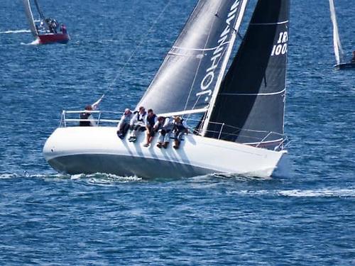 John Minnis's Beneteau 31.7, Final Call from Royal Ulster Yacht Club