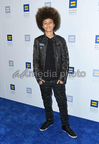 10 March 2018 - Los Angeles, California - DJ Young One. The Human Rights Campaign 2018 Los Angeles Dinner held at JW Marriott LA Live. Photo Credit: Birdie Thompson/AdMedia