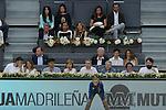 Nishikori Kei Andy Murray in Madrid, Spain. May 09, 2015. (ALTERPHOTOS/Victor Blanco)