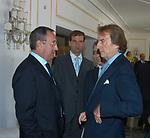 ANTONIO CATRICALA' CON LUCA CORDERO DI MONTEZEMOLO<br /> CONVEGNO GIOVANI IMPRENDITORI DI CONFINDUSTRIA<br /> CAPRI 2005