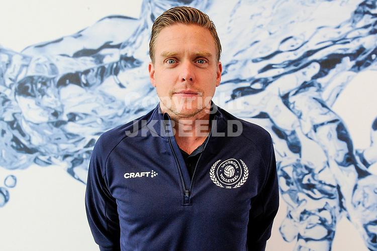 LEEK - Volleybal, Presentatie Lycurgus , seizoen 2021-2022, 01-09-2021 ,  Lycurgus coach  Arjan Taaij