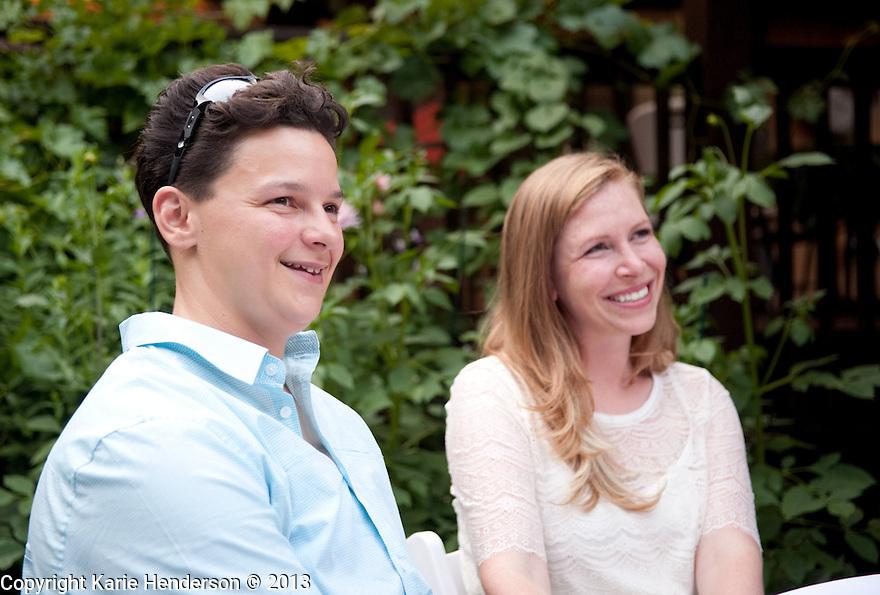 Amber Burkan & Candiece Lewis wedding at Harmony Ridge Lodge, Nevada City, CA. Photo by, Karie Henderson © 2013
