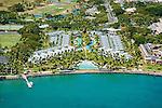 Aerial of the Sheraton Denarau Villas on Denarau Island in Fiji