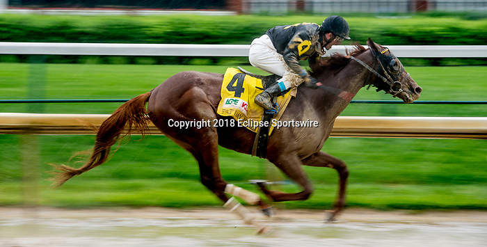 LOUISVILLE, KY - MAY 05: during an undercard race on Kentucky Derby Day at Churchill Downs on May 5, 2018 in Louisville, Kentucky. (Photo by Scott Serio/Eclipse Sportswire/Getty Images)
