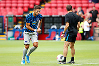 Marko Grujić of Hertha Berlin warms up during the pre season friendly match between Crystal Palace and Hertha BSC at Selhurst Park, London, England on 3 August 2019. Photo by Carlton Myrie / PRiME Media Images.