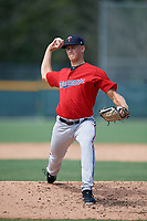 GCL Twins pitcher Niklas Rimmel (30) during a Gulf Coast League game against the GCL Pirates on August 6, 2019 at Pirate City in Bradenton, Florida.  GCL Twins defeated the GCL Pirates 4-2 in the first game of a doubleheader.  (Mike Janes/Four Seam Images)