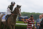 June 6, 2015:  Japan, Junior Alvarado up, wins the 5th running of the Winstar Farm Easy Goer Stakes for three year olds, one mile and one sixteenth, at Belmont Park, Elmont, NY. Trainer Bill Mott; owner Barry K. Schwartz. Joan Fairman Kanes/ESW/CSM