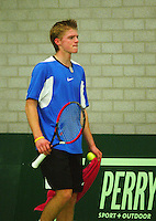 10-3-06, Netherlands, tennis, Rotterdam, National indoor junior tennis championchips, Arjan Pastoors