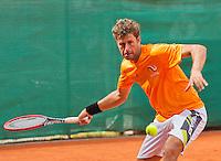 Austria, Kitzbuhel, Juli 14, 2015, Tennis, Davis Cup, Training Dutch team, Robin Haase <br /> Photo: Tennisimages/Henk Koster