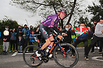 Oscar Cabedo Carda (ESP) Burgos-BH during Stage 2 of the Itzulia Basque Country 2021, running 154.8km from Zalla to Sestao, Spain. 6th April 2021.  <br /> Picture: Luis Angel Gomez/Photogomezsport   Cyclefile<br /> <br /> All photos usage must carry mandatory copyright credit (© Cyclefile   Luis Angel Gomez/Photogomezsport)