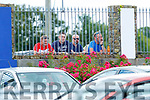 Laune Rangers supporters keeping an eye on  theGlenbeigh/Glencar v Milltown/Castlemaine  contest  during their IFC clash in Killorglin on Sunday