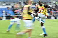 Kalidou Koulibaly of Napoli warms up prior to the Serie A 2018/2019 football match between Frosinone and SSC Napoli at stadio Benito Stirpe, Frosinone, April 28, 2019 <br /> Photo Andrea Staccioli / Insidefoto