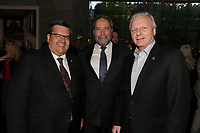 Denis Coderre, <br /> Thomas Mulcair et <br /> Jean-Francois Lisee  au<br /> 13 ieme Gala Phenicia , 25 mai 2017