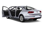Car images close up view of a 2020 Volkswagen Passat Style Business 4 Door Sedan doors