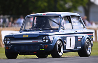 9th July 2021;  Goodwood  House, Chichester, England; Goodwood Festival of Speed; Day Two; Jonathan Bevan drives a 1970 Hillman Imp in the Goodwood Hill Climb