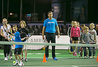 12-02-14, Netherlands,Rotterdam,Ahoy, ABNAMROWTT, Sven Groeneveld(NED) Kids day <br />