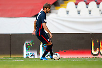GUADALAJARA, MEXICO - MARCH 28: Tanner Tessmann #11 of the United States moves with the ball during a game between Honduras and USMNT U-23 at Estadio Jalisco on March 28, 2021 in Guadalajara, Mexico.