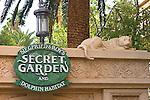 Entrance, Secret Garden, Las Vegas, Nevada