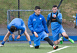 St Johnstone Training….31.03.17<br />Graham Cummins pictured training on the astroturf at McDiarmid Park this morning ahead of tomorrow's game at Hamilton.<br />Picture by Graeme Hart.<br />Copyright Perthshire Picture Agency<br />Tel: 01738 623350  Mobile: 07990 594431