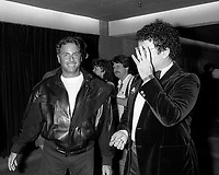 Douglas COCO Leopold (L) and Tommy Schurmacher (R)<br /> attend the world film festival, september 1st, 1986