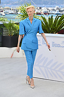 CANNES, FRANCE. July 13, 2021: Tilda Swinton at the photocall for Wes Anderson's The French Despatch at the 74th Festival de Cannes.<br /> Picture: Paul Smith / Featureflash